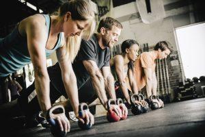 CrossFit Training Push Ups